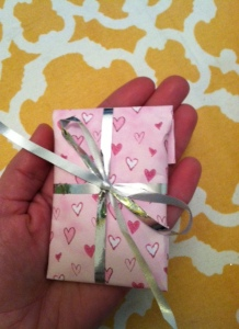 lovely little Valentine's package!